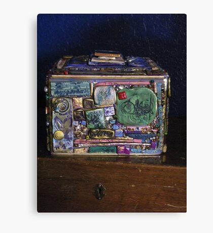 Mosaic Box Canvas Print