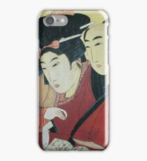 The Lovers Ohan and Chomon iPhone Case/Skin