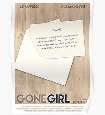 Gone Girl film poster Poster