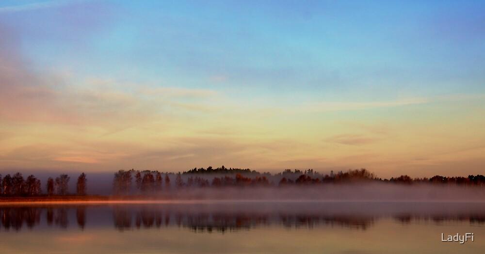 Autumn reflections by LadyFi