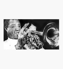 Portrait of Louie Armstrong Photographic Print