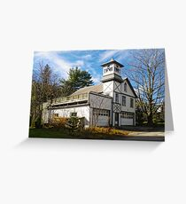 Pine Hill Firehouse Greeting Card