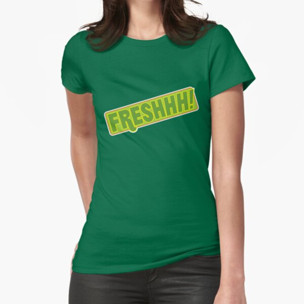 'FRESHHH!' Slogan T-shirt Fitted T-Shirt