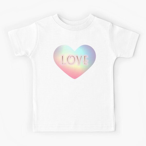 Love Inside My Heart Kids T-Shirt