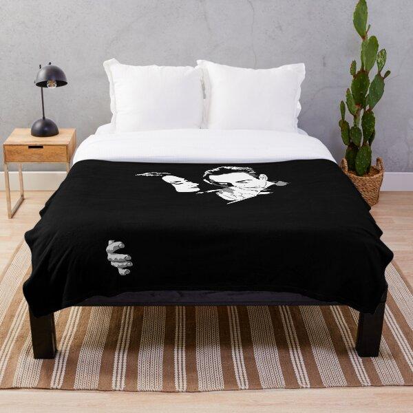 Gomez y Morticia Throw Blanket