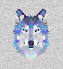Geometric Wolf Kids Pullover Hoodie