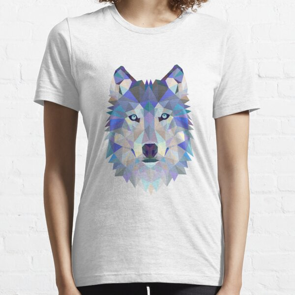 Geometric Wolf Essential T-Shirt