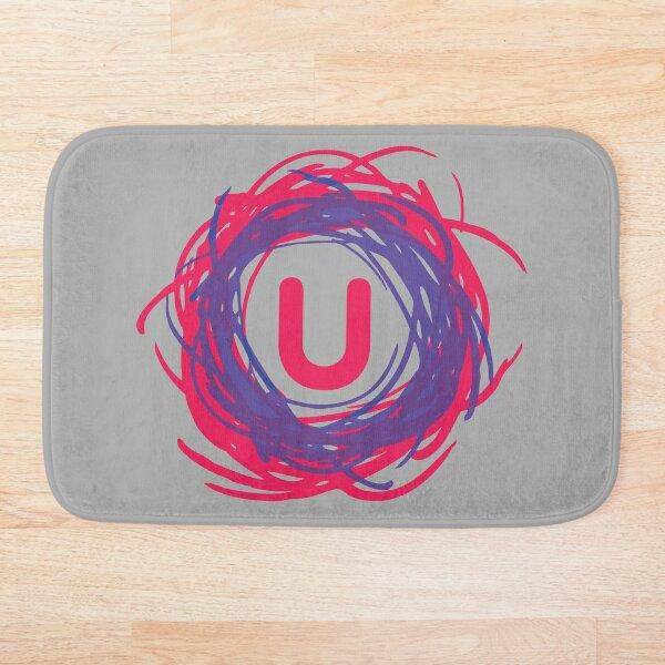 """""""U"""" Logo Bath Mat"""
