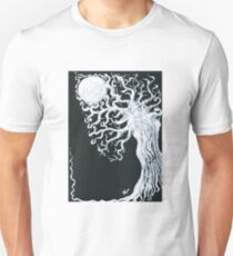 Drawn to the Moonlight  Unisex T-Shirt