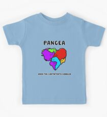 Pangea- the happy continent  Kids Tee