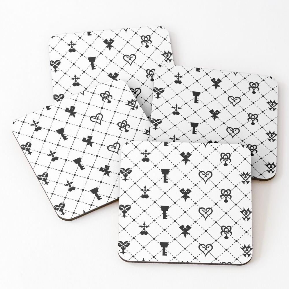 KH Pattern Coasters (Set of 4)