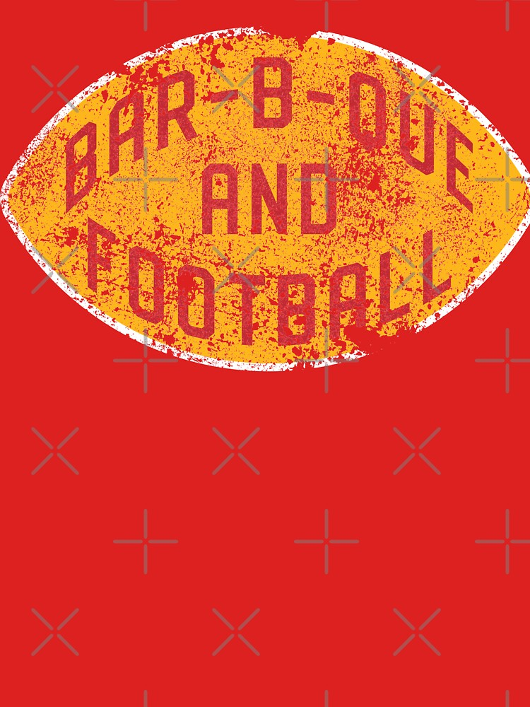 BBQ and Football - Red & Gold by SamsonCo