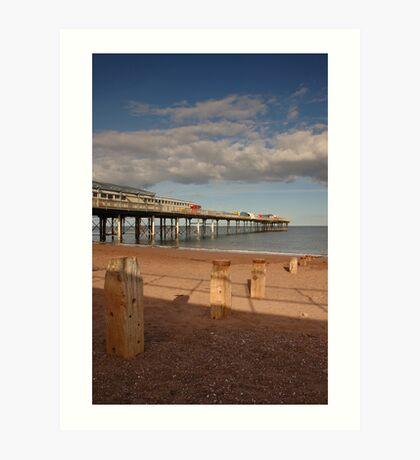 Teignmouth Pier - Devon Art Print