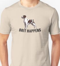 Brit Happens T-shirt unisexe