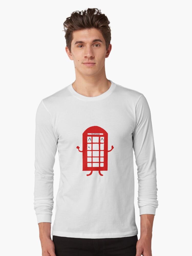 Cartoon Telephone Box by Zozzy-zebra