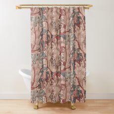 WILLIAM MORRIS DEATAIL 1083 Shower Curtain