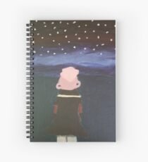 Lars and the Stars Spiral Notebook