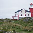 Ferryland Lighthouse - Newfoundland Canada by Raymond J Barlow