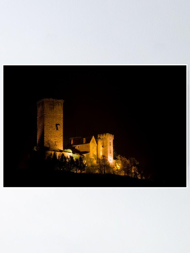 Alternate view of Chateau de Saint Laurent-Les-Tours Poster