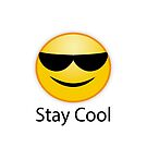 Stay cool. Schön ruhig bleiben, du bist rot von Shirtbutler