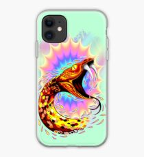 Snake Attack Psychedelic Surreal Art iPhone Case