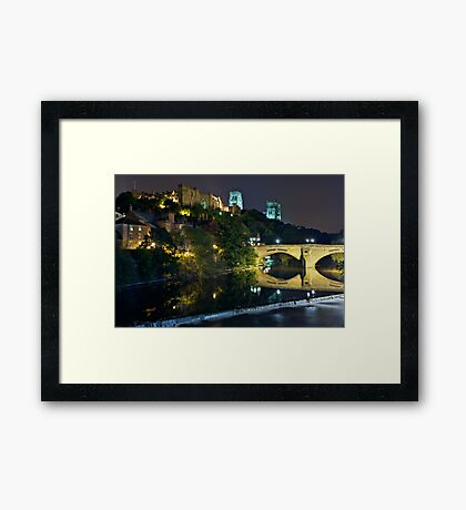 The Bishop's Fort, Durham Castle. County Durham. UK Framed Print
