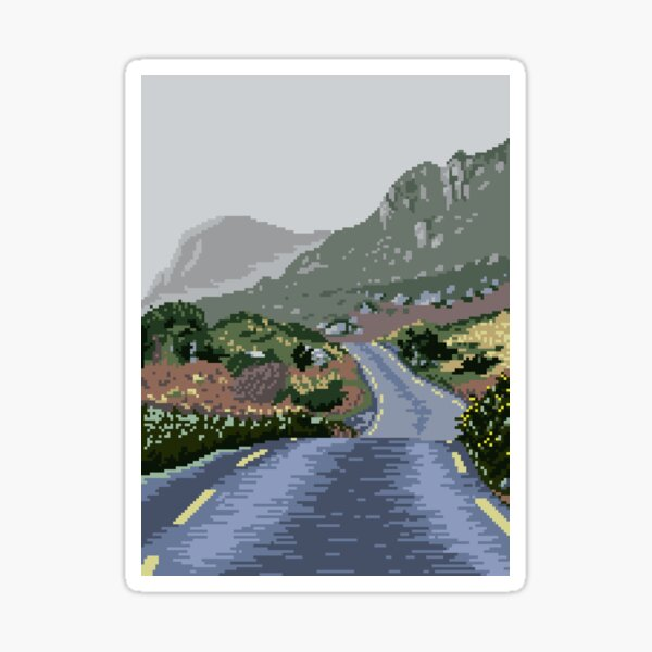 An Bóthar - Gap of Dunloe Sticker