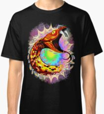Snake Attack Psychedelic Surreal Art Classic T-Shirt
