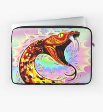 Snake Attack Psychedelic Surreal Art Laptop Sleeve