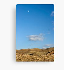 El Paso Mountains, Mojave Desert, California Canvas Print