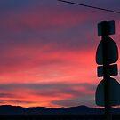 Antelope Valley Sunset, Lancaster California by Chris Clarke