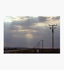 Route 58 at Boron, California Photographic Print