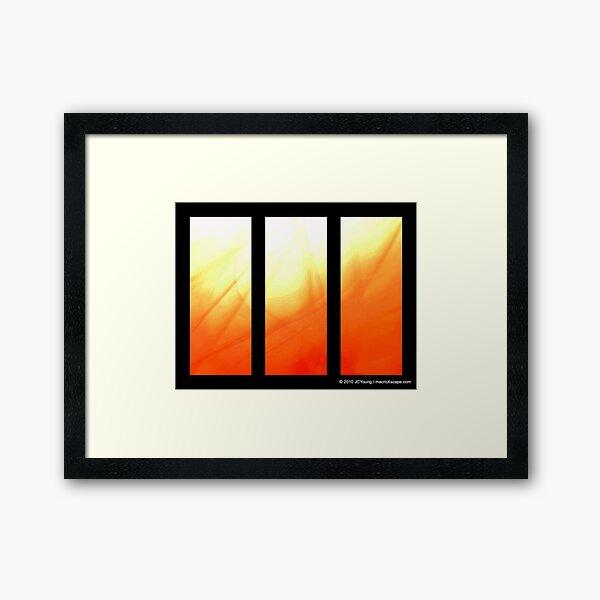 Bright Sun Framed Art Print
