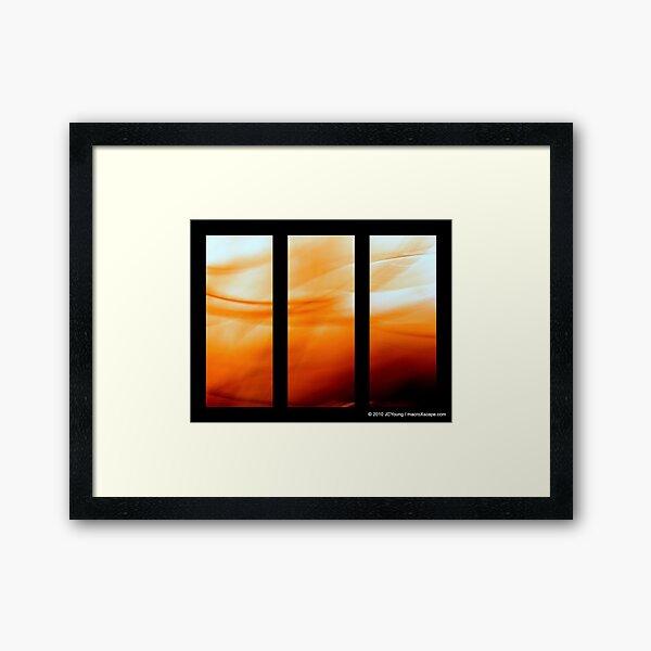 Glory of Sun Framed Art Print