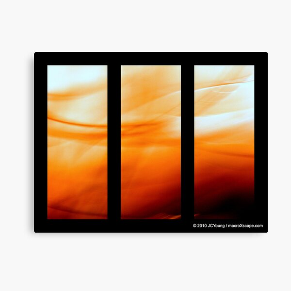 Glory of Sun Canvas Print