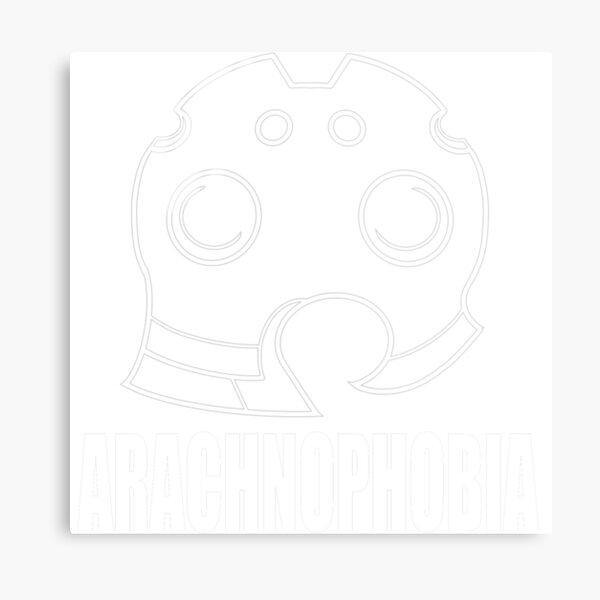 Soul Eater Giriko Arachnophobia Emblem  Metal Print