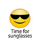 time for sunglasses. Sonnenbrille an, zum Strand bitte von Shirtbutler
