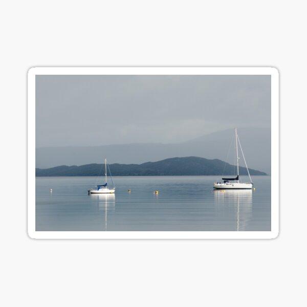 Calm Water Mooring: Broadford, Skye Sticker