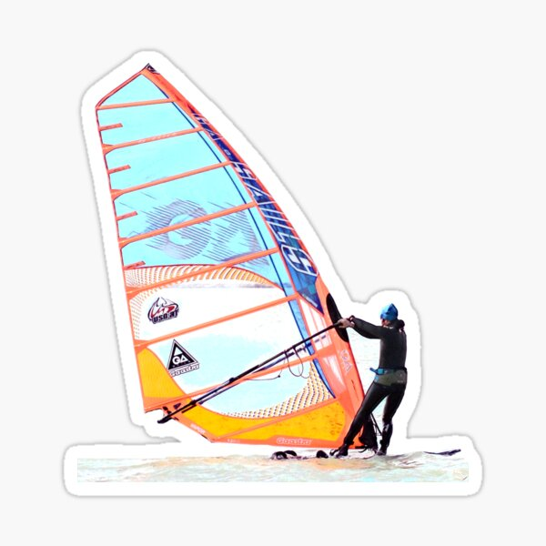 Windserfer #2 Glossy Sticker