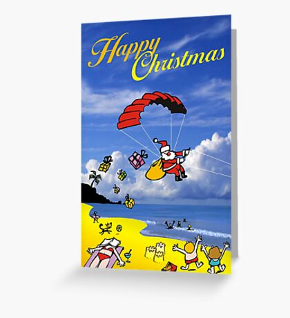Summer Xmas Greeting Card