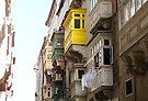 Balconies of Valletta 1 by Jasna