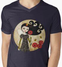 Queen Beatrix Men's V-Neck T-Shirt