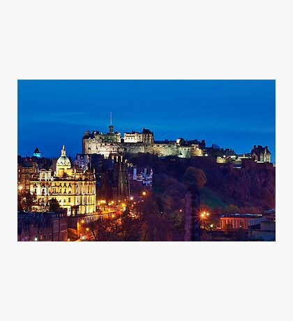 Edinburgh At Dusk Photographic Print