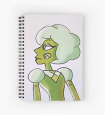 Green Tourmaline Spiral Notebook