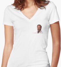 Andy Dwyer Women's Fitted V-Neck T-Shirt