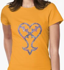 The Kingdom Hearts Heartless Womens Fitted T-Shirt