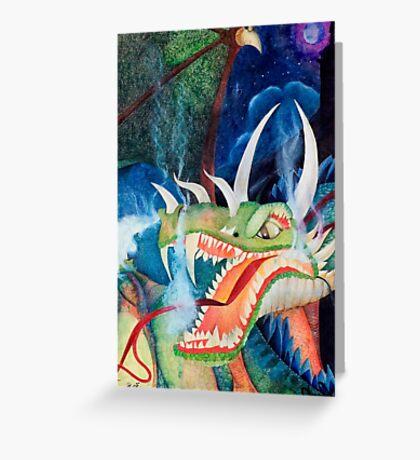 Zoe Dragon Greeting Card