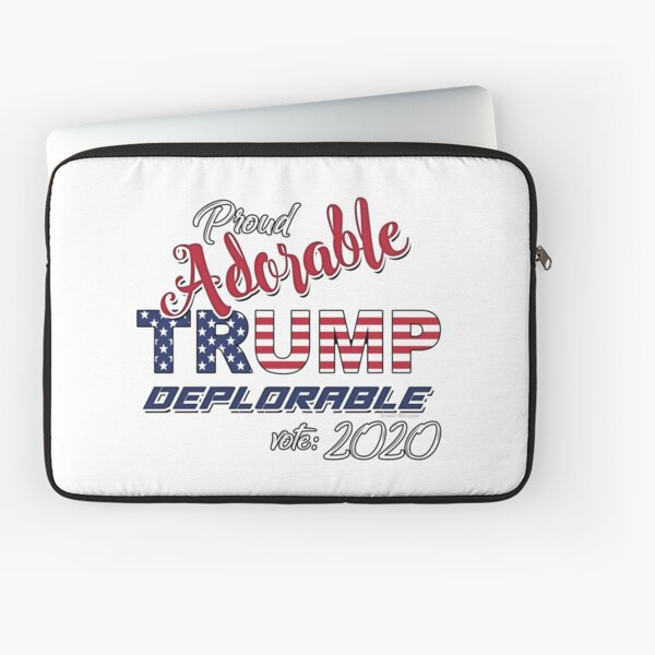 2020 Adorable Deplorable | TRUMP SUPPORTER  Laptop Sleeve