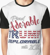 2020 Adorable Deplorable | TRUMP SUPPORTER  Graphic T-Shirt