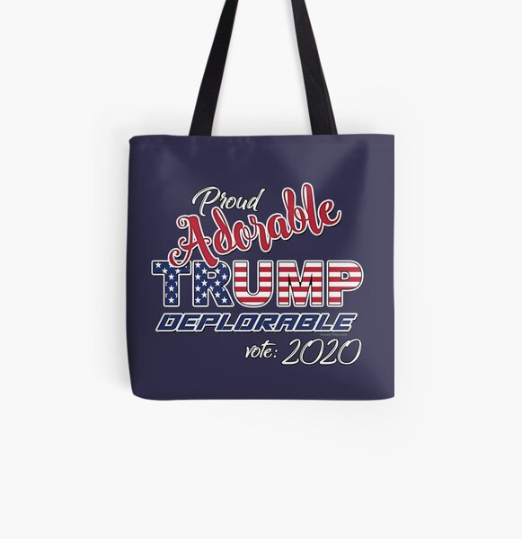 2020 Adorable Deplorable | TRUMP SUPPORTER  All Over Print Tote Bag